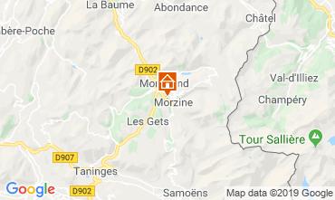 Map Morzine Chalet 117973
