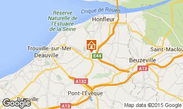 Map Honfleur House 7708
