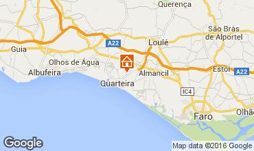 Map Quarteira Apartment 88303