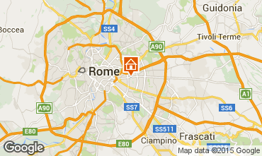 Map Rome Apartment 74636