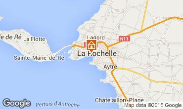 Map La Rochelle Vacation rental 75124