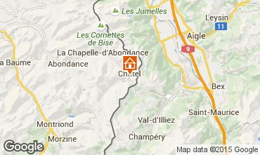 Map Ch�tel Apartment 805