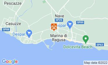 Map Marina di Ragusa Apartment 92332