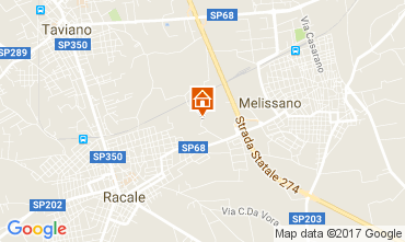 Map Taviano Villa 112367