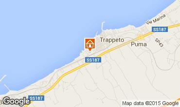 Map Trappeto Apartment 83011