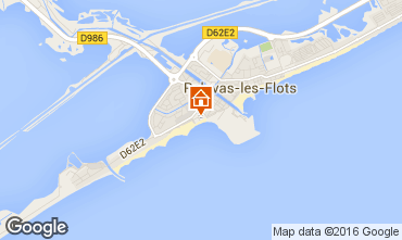 Map Palavas-les-Flots Apartment 6117