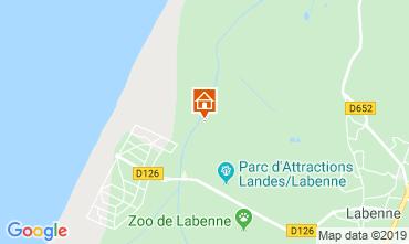 Map Labenne Océan Mobile home 102283