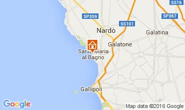 Map Gallipoli Apartment 68015