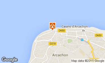 Map Arcachon Apartment 75728