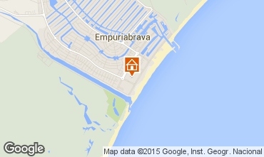 Map Empuriabrava Apartment 82800