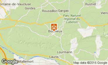 Map Bonnieux Apartment 95587