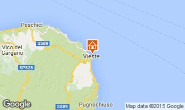Map Vieste Apartment 52854