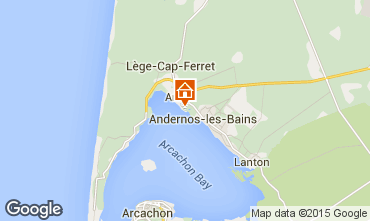 Map Andernos les Bains House 10183