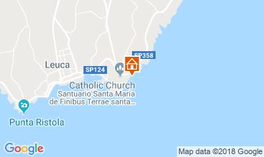 Map Santa Maria di Leuca Unusual accommodation 55854