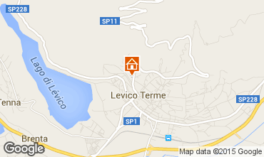 Map Levico Terme Apartment 76196