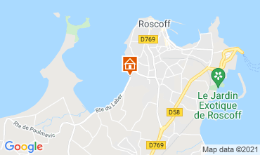 Map Roscoff Villa 112373