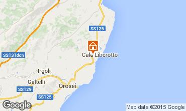Map Orosei Apartment 75460