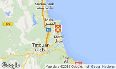 Map Martil Villa 20676
