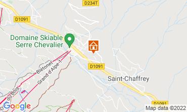 Map Serre Chevalier Chalet 2931