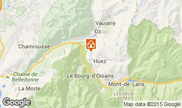 Map Alpe d'Huez Apartment 66593