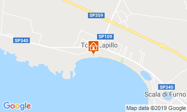 Map Torre Lapillo Apartment 103735