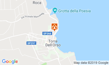 Map Torre dell'Orso Apartment 105298