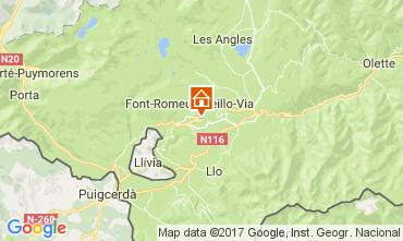 Map Font Romeu Apartment 15696