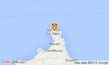 Map San Vito lo Capo Villa 103250
