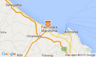 Map Falconara Marittima Apartment 105018