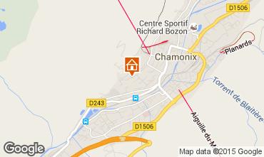 Map Chamonix Mont-Blanc Apartment 663