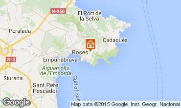 Map Rosas Villa 92737
