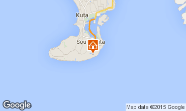 Map Nusa Dua Villa 98326