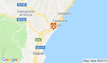 Map Taormina One-room apartment 26172