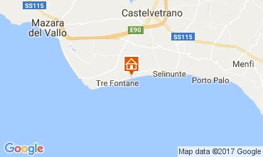 Map Tre Fontane Villa 101711