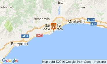 Map Marbella Villa 11384
