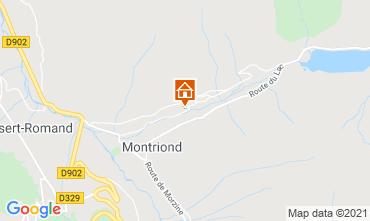 Map Morzine Apartment 17371