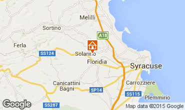 Map Syracuse Villa 74929