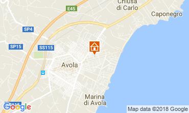 Map Avola Villa 115325