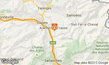 Map Les Carroz d'Araches Chalet 82037