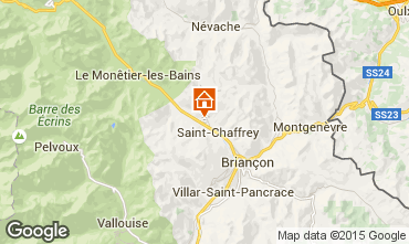 Map Serre Chevalier Chalet 47619