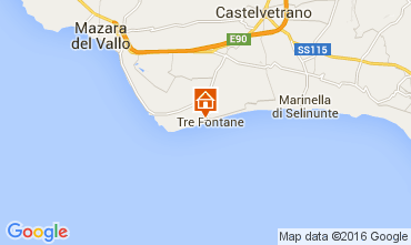 Map Tre Fontane Apartment 103641