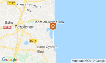 Map Canet-en-Roussillon Mobile home 119210