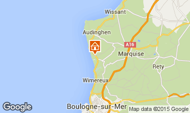 Map Ambleteuse Apartment 67946