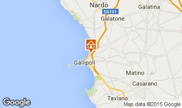 Map Gallipoli Cave dwelling 78258