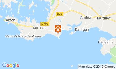 Map Sarzeau Bungalow 62983