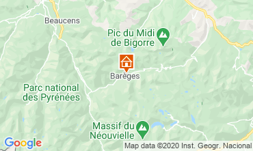 Map Barèges Apartment 74238