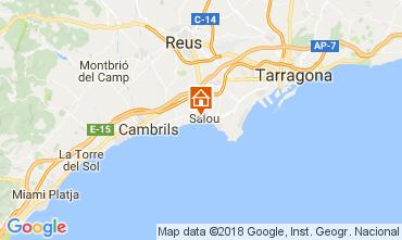 Map Salou Villa 113021