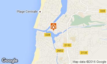 Map Hossegor Apartment 6464