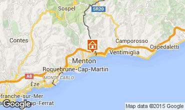 Map Menton Apartment 68396