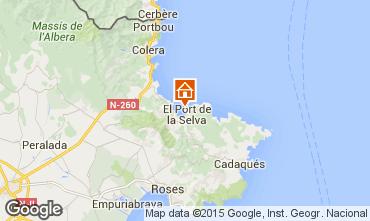 Map Cadaqués House 58399